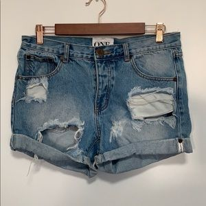 One teaspoon shorts euc size 26